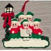 Caroler Ornament with 5