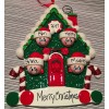 Christmas House Ornament with 4