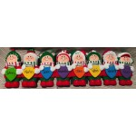 Santa's Elves with Christmas Lights Tabletop Decoration