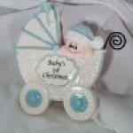 Baby Ornaments | Baby Blue