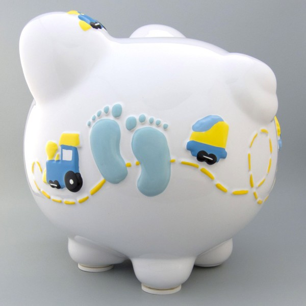Personalized banks for babies images - Coin banks for boys ...