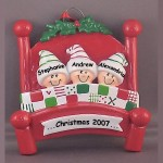 Ornaments with 3 People