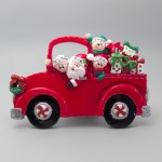 Christmas Truck Tabletop Decoration
