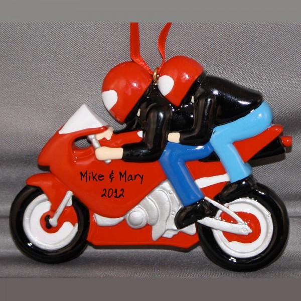 sport bike couple