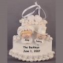 Wedding Cake Ornament, Personalized
